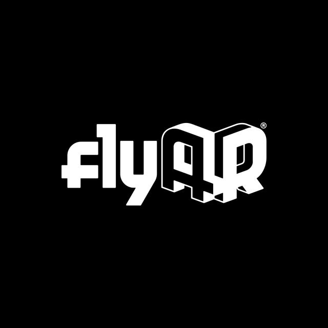 flyAR-r-logo-whiteonblack