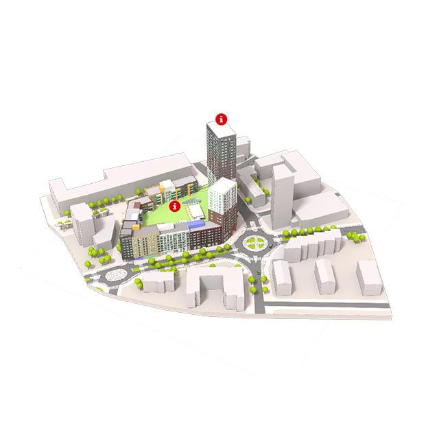 flyar-augmented-reality-lujatalo-perhela-block-scale-model