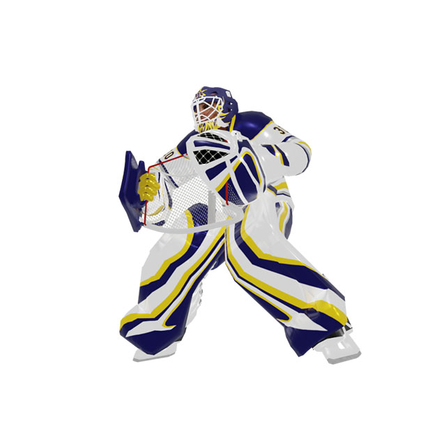 3d goalie, ar game concept for arenas