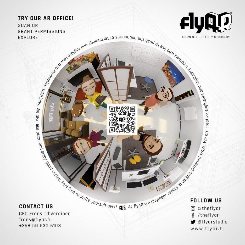 flyAR office 2021 target image