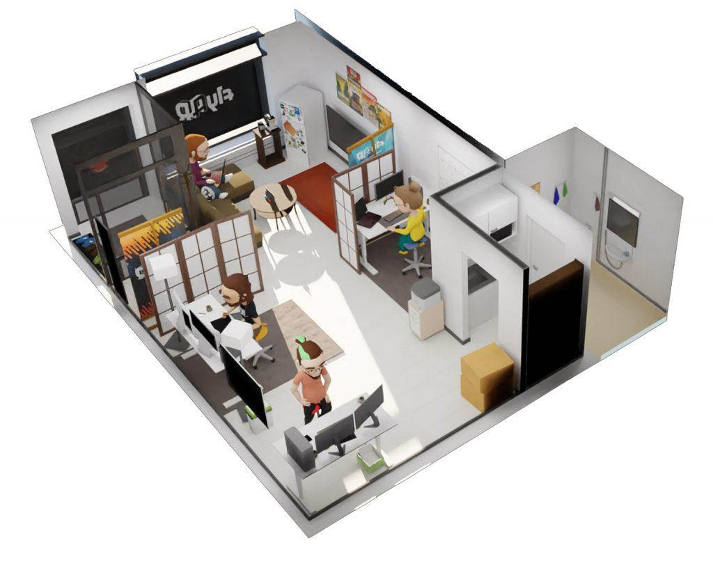 flyAR office render